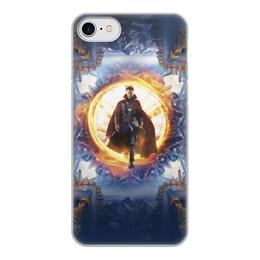 """Чехол для iPhone 7, объёмная печать """"Доктор Стрэндж"""" - marvel, мстители, марвел, доктор стрэндж, doctor strange"""