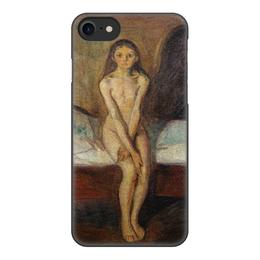 """Чехол для iPhone 7, объёмная печать """"Созревание (Эдвард Мунк)"""" - картина, живопись, мунк"""