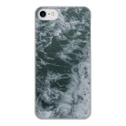 """Чехол для iPhone 7, объёмная печать """"Морские прогулки"""" - лето, море, волны, отпуск, морская прогулка"""