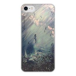 """Чехол для iPhone 7, объёмная печать """"Русалка """" - рисункимарии, mariagolub-art, maggygo"""