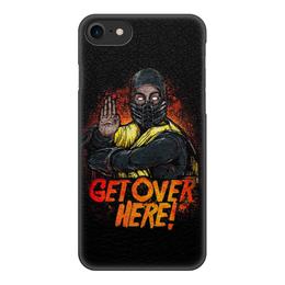 """Чехол для iPhone 7, объёмная печать """"Mortal Kombat"""" - игры, mortal kombat"""