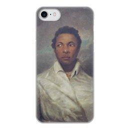 """Чехол для iPhone 7, объёмная печать """"Айра Олдридж в образе Отелло"""" - картина, живопись, шекспир, театр, норткот"""