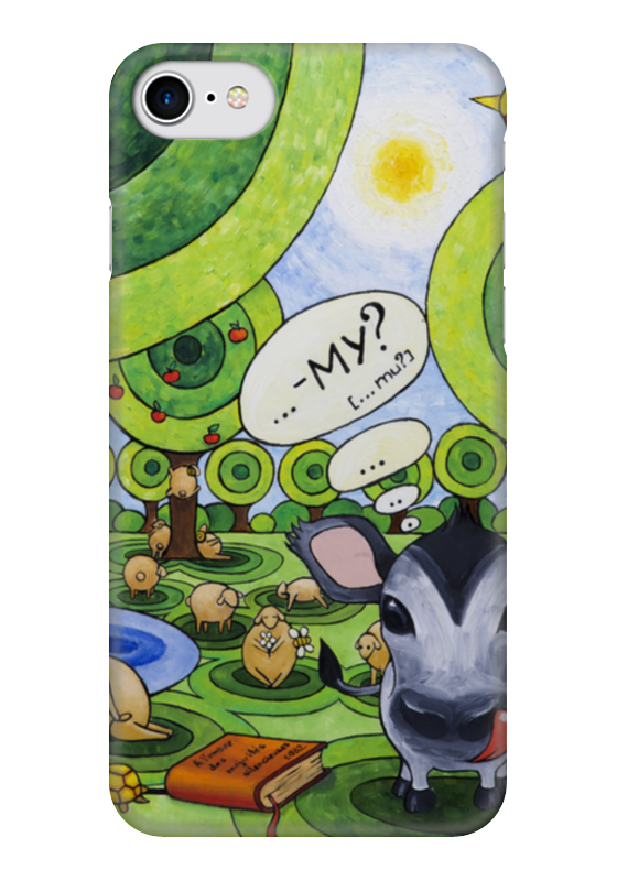 Чехол для iPhone 7 глянцевый Printio Лолипупсы чехол для iphone 7 глянцевый printio horror art