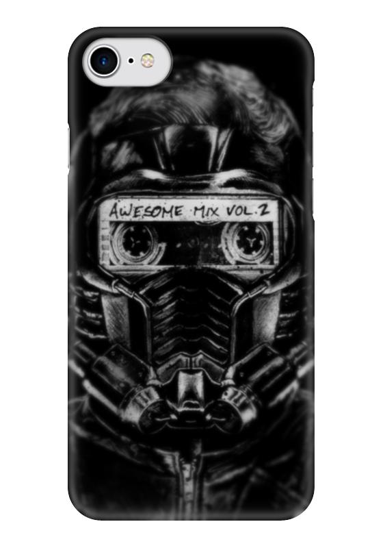 Чехол для iPhone 7 глянцевый Printio Star lord чехол для iphone 6 глянцевый printio time lord doctor who