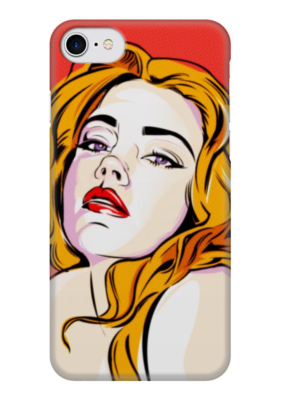 Чехол для iPhone 7 глянцевый Printio Girly girl