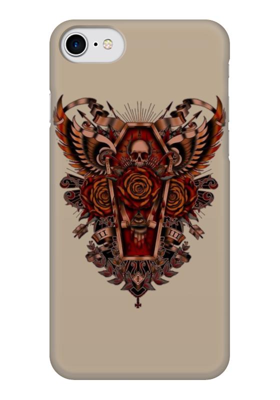 Чехол для iPhone 7 глянцевый Printio Coffin art чехол для iphone 7 глянцевый printio horror art