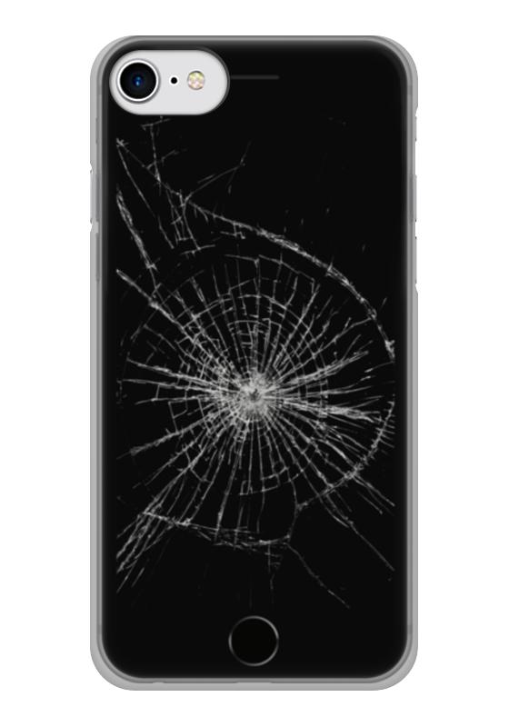 Чехол для iPhone 7 глянцевый Printio Разбитый экран free shipping 10pcs lot t5001 sop 8 new original
