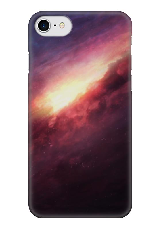 Чехол для iPhone 7 глянцевый Printio Космические облака чехол для iphone 7 глянцевый printio альтрон мстители