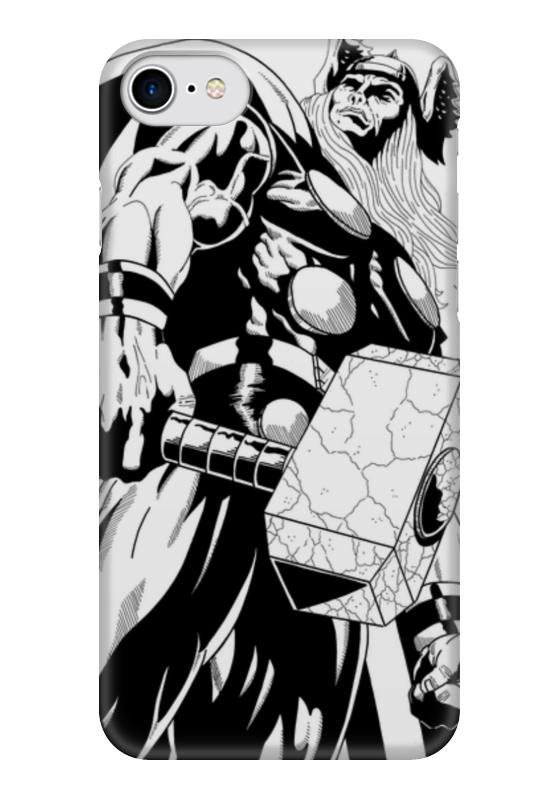 Чехол для iPhone 7 глянцевый Printio Тор чехол для iphone 7 глянцевый printio horror art