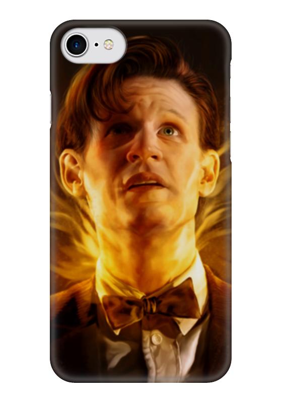 Чехол для iPhone 7 глянцевый Printio Доктор кто (doctor who) чехол для iphone 7 глянцевый printio doctor who x abbey road