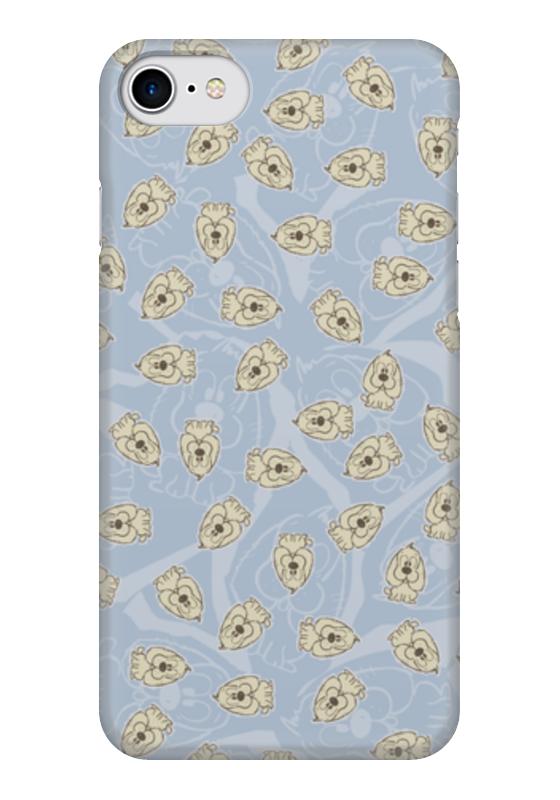 Чехол для iPhone 7 глянцевый Printio Собачки собачки на лесках марионетки оптом на украине