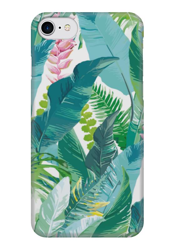 Чехол для iPhone 7 глянцевый Printio Растения