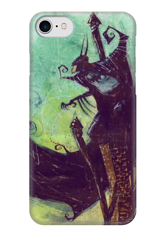 Чехол для iPhone 7 глянцевый Printio Comics art series: batman чехол для iphone 7 глянцевый printio horror art