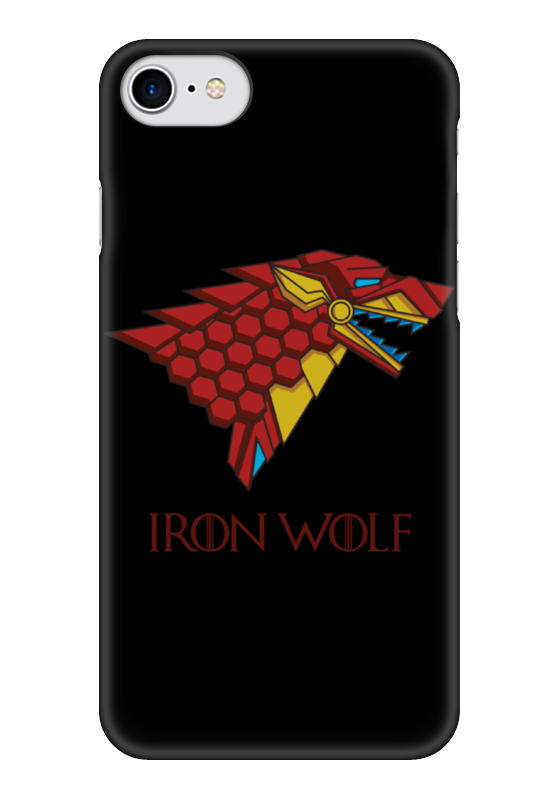 Чехол для iPhone 7 глянцевый Printio Iron wolf (stark x iron man) new lone wolf and cub v 7