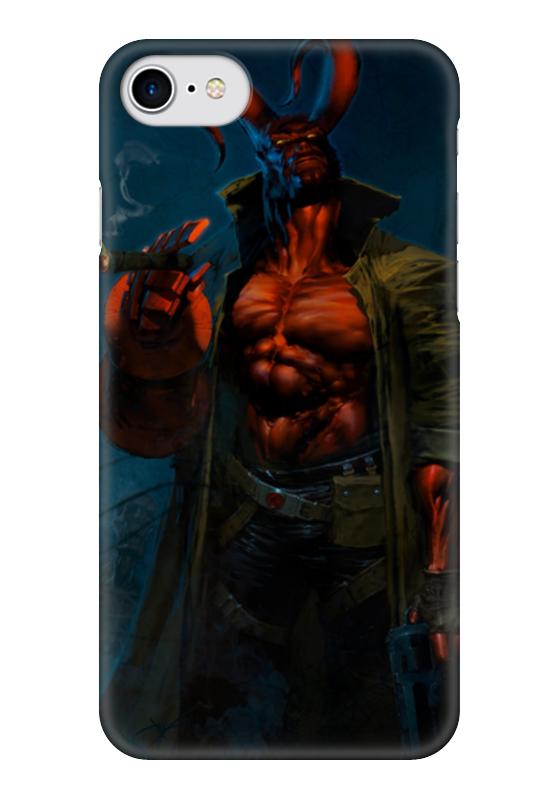 Чехол для iPhone 7 глянцевый Printio Хеллбой чехол для iphone 7 глянцевый printio horror art