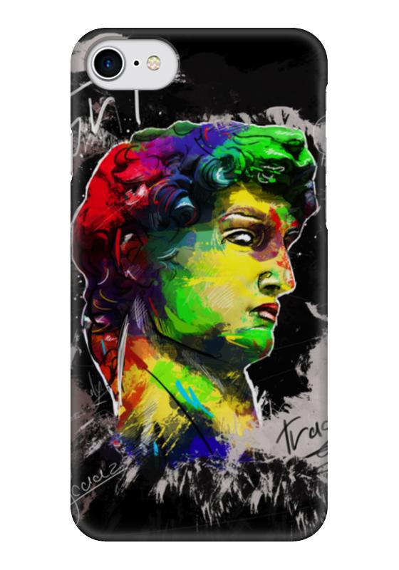 Чехол для iPhone 7 глянцевый Printio David art
