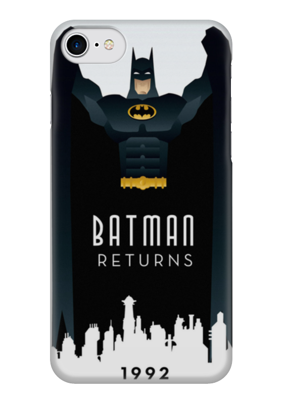 Чехол для iPhone 7 глянцевый Printio Batman returns чехол для iphone 7 глянцевый printio сад на улице корто сад на монмартре