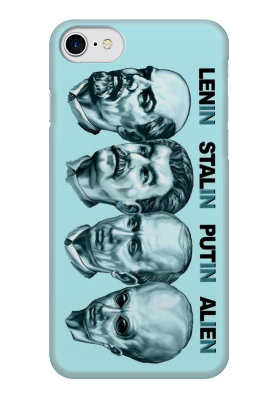 Чехол для iPhone 7 глянцевый Printio Лидеры чехол для iphone 7 глянцевый printio horror art