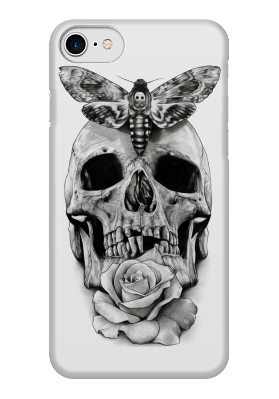 Чехол для iPhone 7 глянцевый Printio Skull - 10 чехол для iphone 7 глянцевый printio альтрон мстители