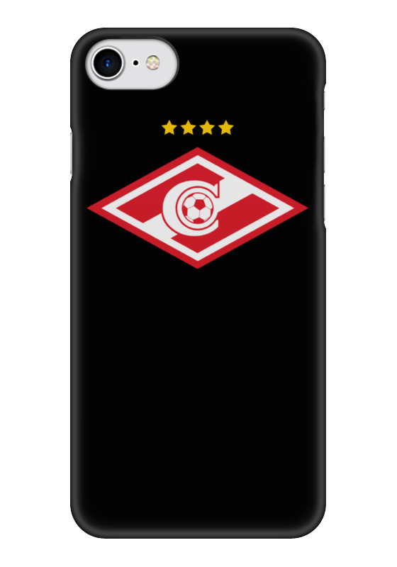 Чехол для iPhone 7 глянцевый Printio Спартак-москва
