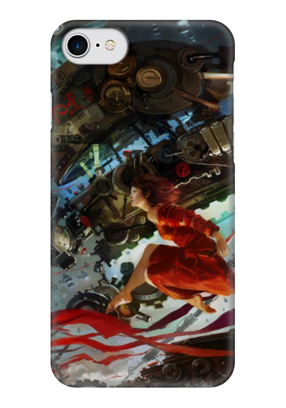 Чехол для iPhone 7 глянцевый Printio Стимпанк / steampunk чехол для iphone 7 глянцевый printio skull art