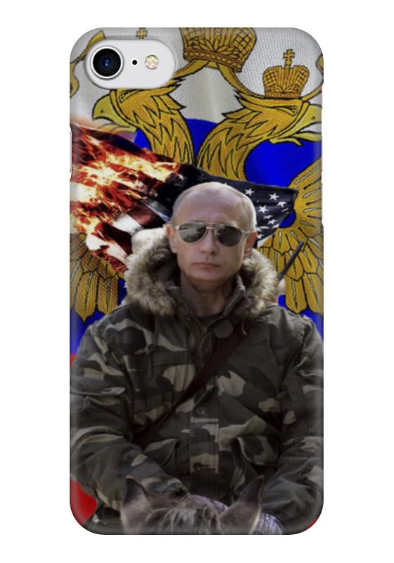 Чехол для iPhone 7 глянцевый Printio Лидер комод лидер 3 2