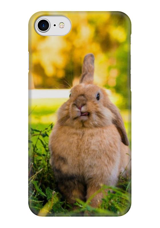 Чехол для iPhone 7 глянцевый Printio Кролик чехол для iphone 6 глянцевый printio кролик