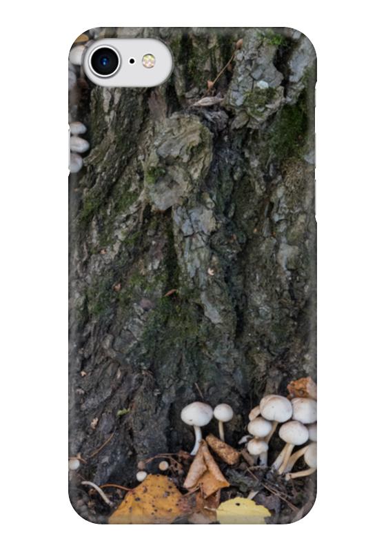 Чехол для iPhone 7 глянцевый Printio Кора дерева кора