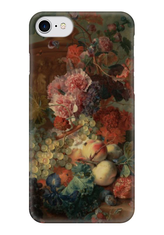 ян ван эйк Чехол для iPhone 7 глянцевый Printio Цветы (ян ван хёйсум)