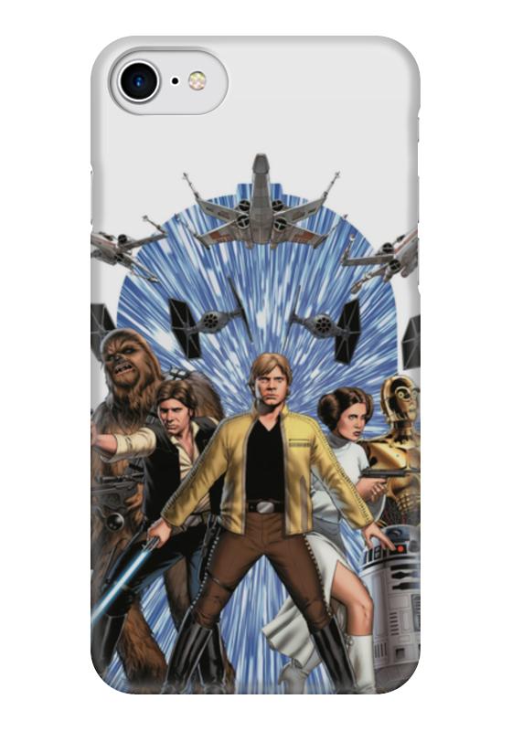Чехол для iPhone 7 глянцевый Printio Star wars чехол для iphone 7 глянцевый printio альтрон мстители