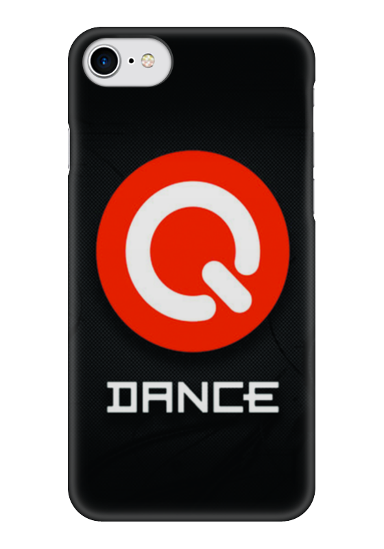 Чехол для iPhone 7 глянцевый Printio Q dance игра для xbox just dance 2018