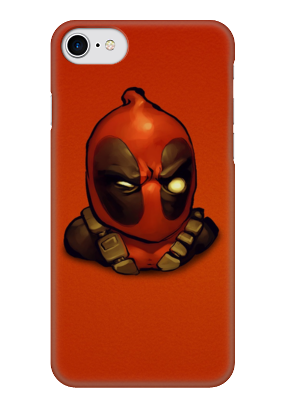 Чехол для iPhone 7 глянцевый Printio Дэдпул (deadpool) чехол для iphone 7 plus глянцевый printio deadpool