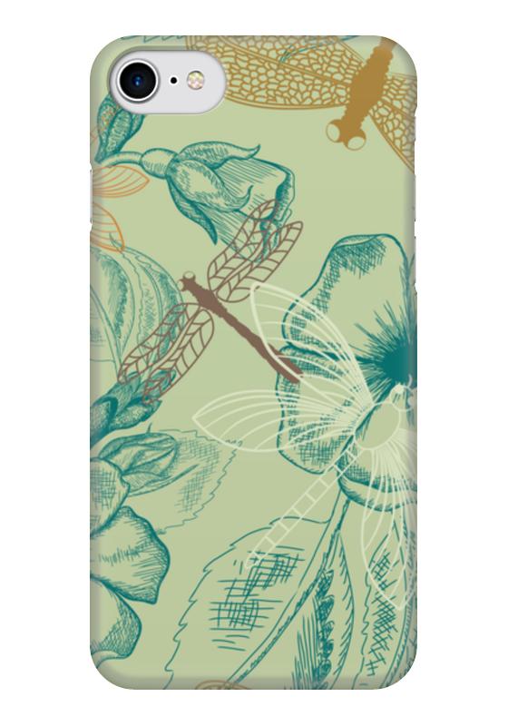 Чехол для iPhone 7 глянцевый Printio Флора и фауна зенкевич л а моря ссср их фауна и флора