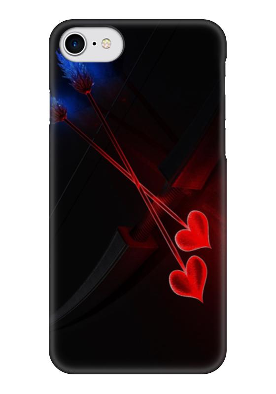 Чехол для iPhone 7 глянцевый Printio Стрелы амура чехол для iphone 7 глянцевый printio horror art