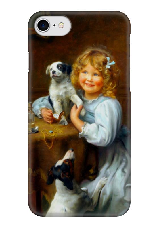 Чехол для iPhone 7 глянцевый Printio Картина артура элсли (1860-1952) картины magic home картина репродукция дворик