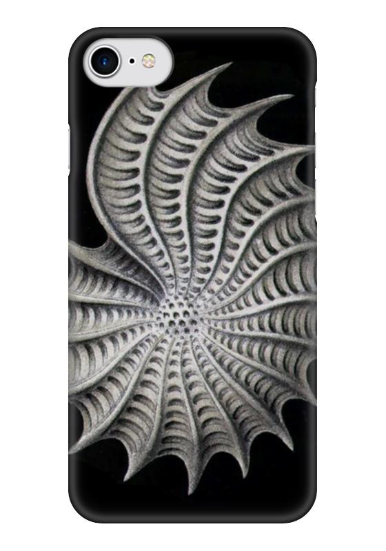 Чехол для iPhone 7 глянцевый Printio Ракушка nautilus (на айфон 7)