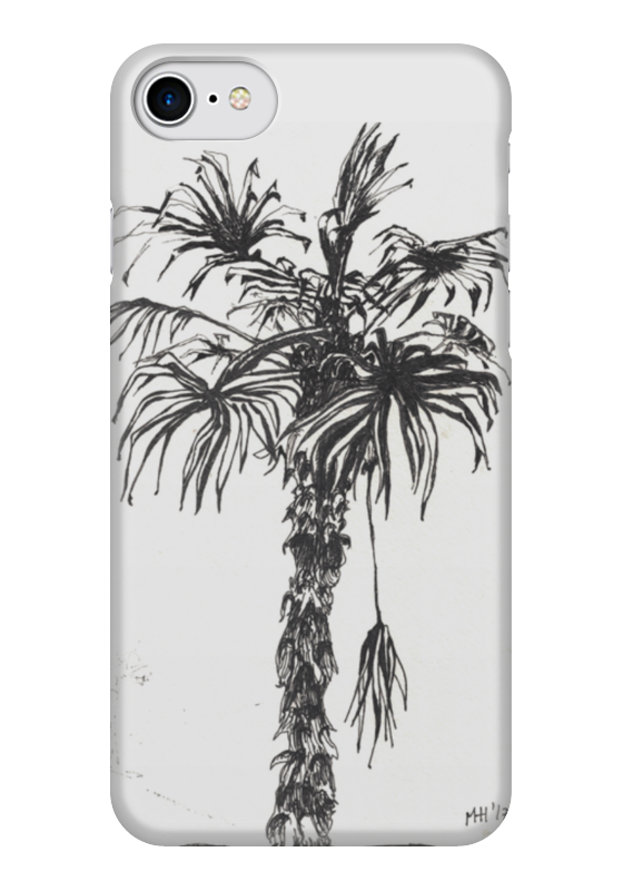 Чехол для iPhone 7 глянцевый Printio Отпуск солнцева н отпуск на вилле с призраком
