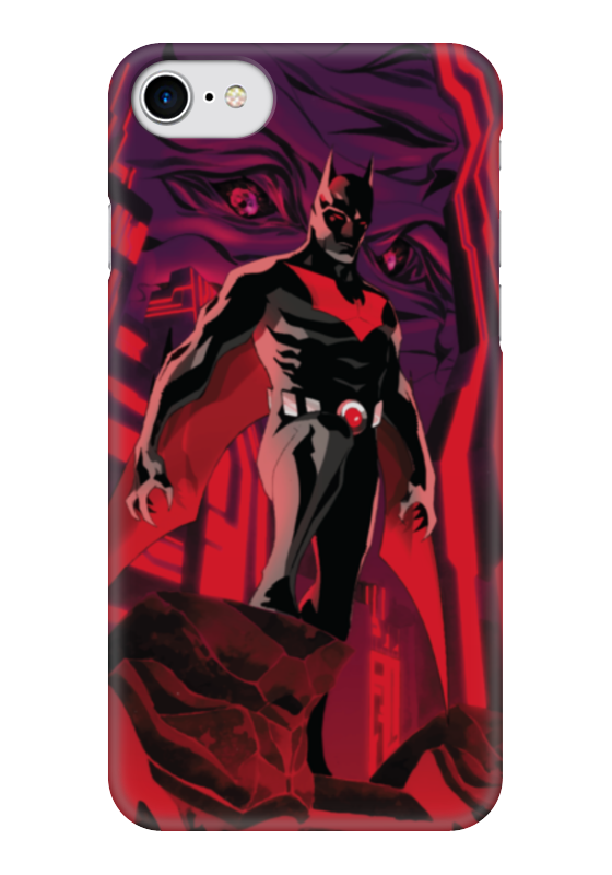 Чехол для iPhone 7 глянцевый Printio Batman beyond / бэтмен будущего чехол для iphone 4 глянцевый с полной запечаткой printio бэтмен