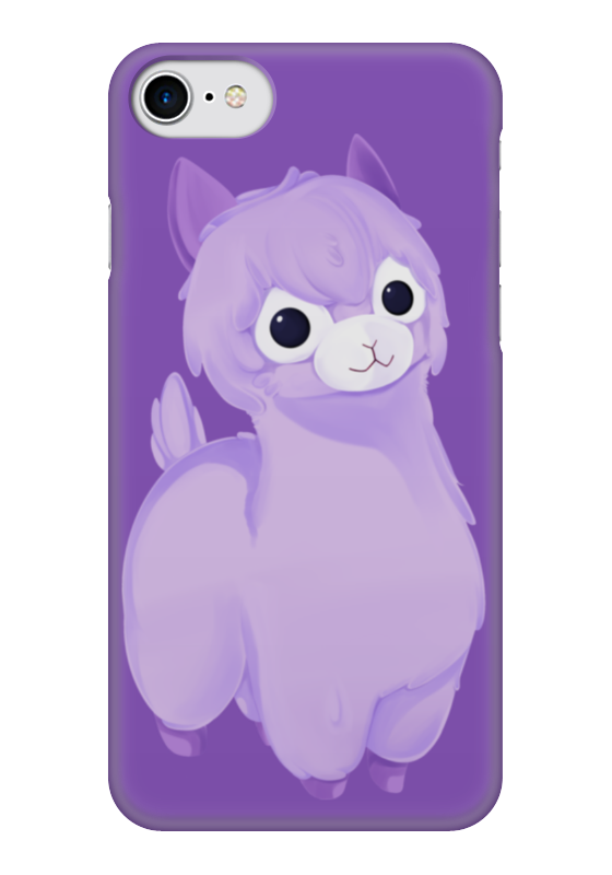Чехол для iPhone 7 глянцевый Printio Alpaca / альпака чехол для iphone 7 глянцевый printio мечты витторио коркос