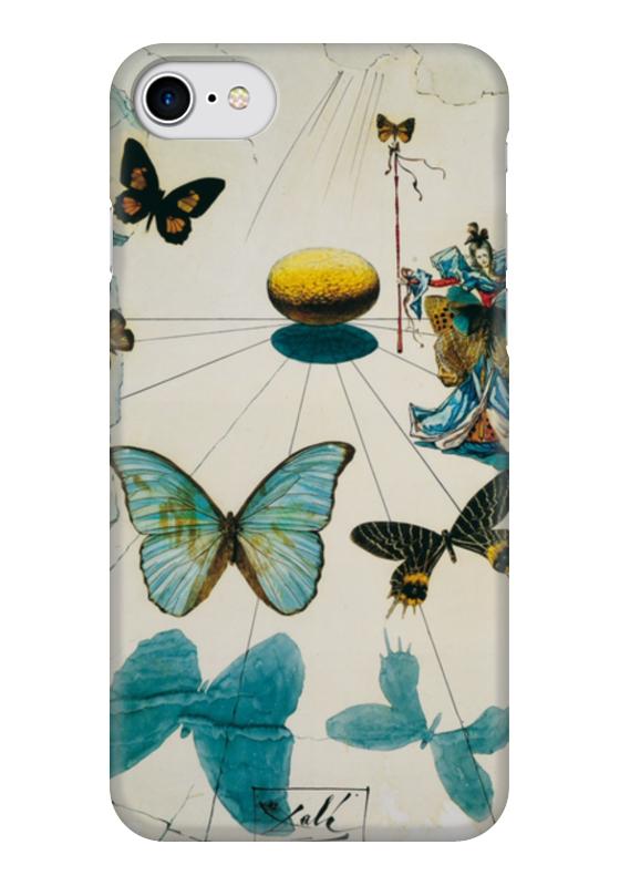 Чехол для iPhone 7 глянцевый Printio Сальвадор дали / бабочки чехол для iphone 6 глянцевый printio сальвадор дали