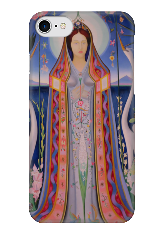 Чехол для iPhone 7 глянцевый Printio Дева (purissima) (джозеф стелла)  цена и фото