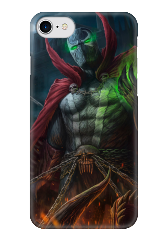Чехол для iPhone 7 глянцевый Printio Спаун (spawn) 7 inch spawn action figure classic toys for boys collection with retail box