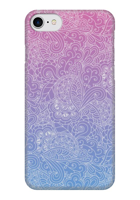 Чехол для iPhone 7 глянцевый Printio Градиентный узор чехол для iphone 7 глянцевый printio альтрон мстители