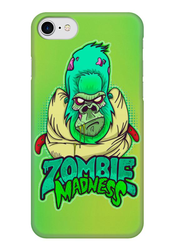 Чехол для iPhone 7 глянцевый Printio Zombie madness чехол для iphone 7 глянцевый printio zombie art