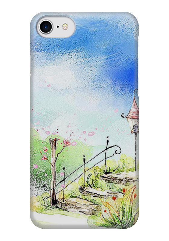 Чехол для iPhone 7 глянцевый Printio Фонарь. чехол для iphone 5 глянцевый с полной запечаткой printio ember spirit dota 2