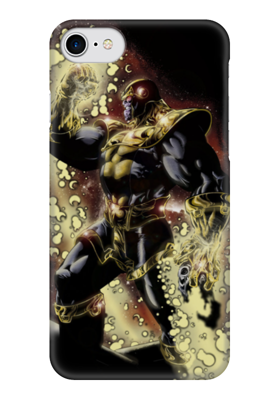 Чехол для iPhone 7 глянцевый Printio Танос арт1 чехол