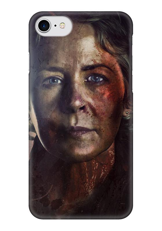 Чехол для iPhone 7 глянцевый Printio The walking dead | carol худи print bar the walking dead