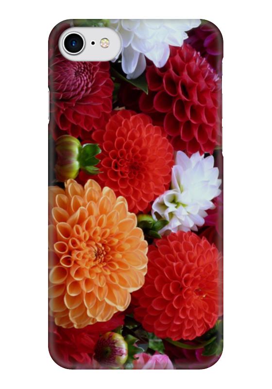Чехол для iPhone 7 глянцевый Printio Цветы чехол для iphone 7 глянцевый printio цветы на голубом