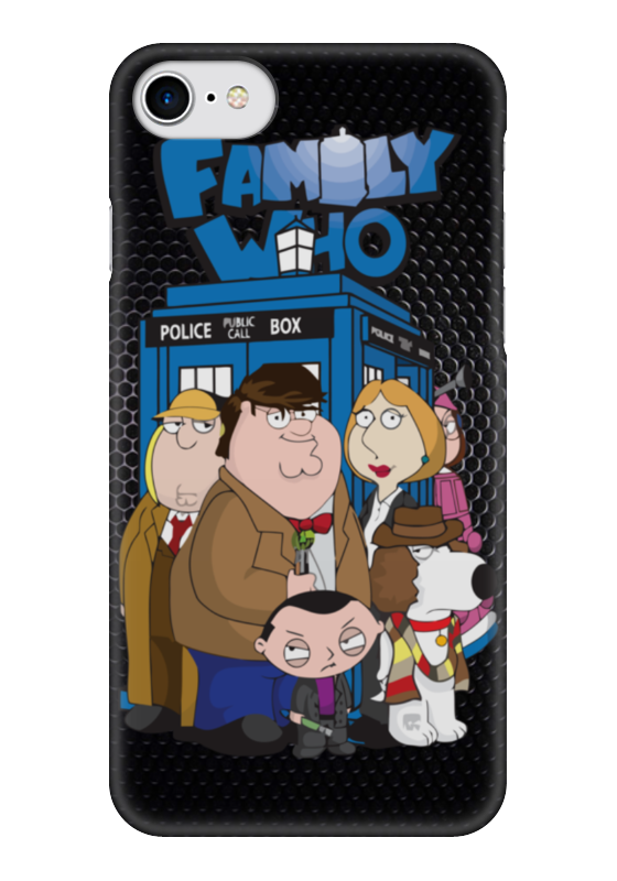 Чехол для iPhone 7 глянцевый Printio Family gay (doctor who) чехол для iphone 7 глянцевый printio doctor who x abbey road