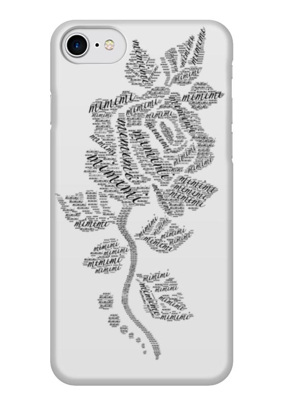 Чехол для iPhone 7 глянцевый Printio Роза мимими чехол для iphone 7 глянцевый printio альтрон мстители